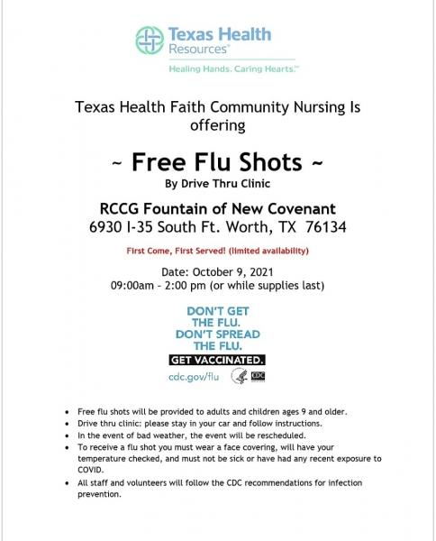 Free Flu Shot Day